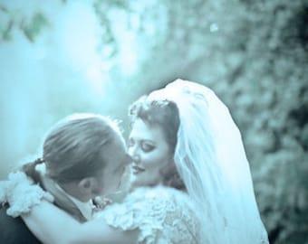 Sweet and Simple Bridal Veil