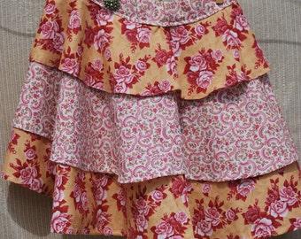 SALE...... Vintage Rose Apron
