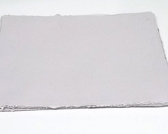 1 sheet - Lavender Tone Heavyweight Paper - Mixed fibers - Coarse tooth - Cold press - OVERSTOCK!
