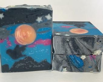 Harvest Moon Natural Bar Soap - Handmade Artisan Shea Butter Soap - Vegan Gift Soap - Moisturizing Soap - Zero Waste Soap