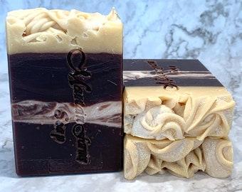 Vanilla Bean Marshmallow Artisan Soap - Shea Butter Soap - Moisturizing Soap -Handmade Soap -Zero Waste Soap - Abbotsford-BC