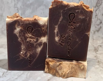 Natural Handmade Bar Soap - Sweet Vanilla Chai Handmade Soap - Gift Soap -Natural Artisan Soap - Unisex Soap - Organic Shea Butter Soap
