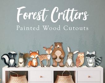 nursery decor woodland