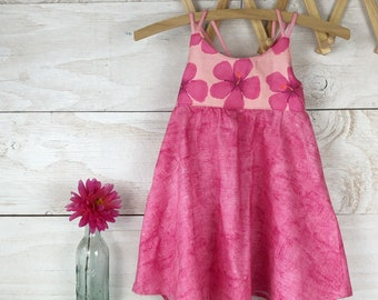 Limited Edition Twirl Dress / Size 6-12 month, 1/2 year and 2/3 year only
