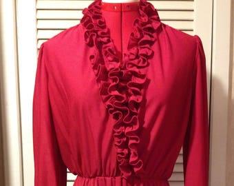 Womens Vintage Dress by LADY CAROL