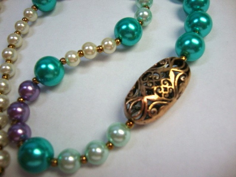 Dreaming Teal Necklace