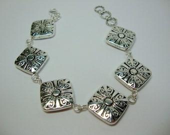 Silver Renaissance Bracelet