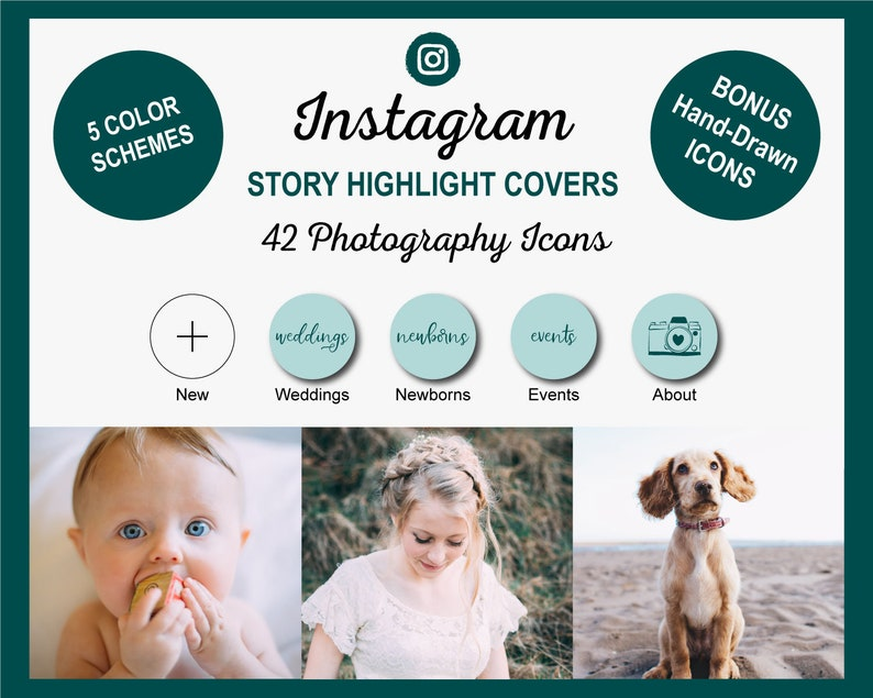 Photography Instagram Story Highlight Cover Icons  image 1