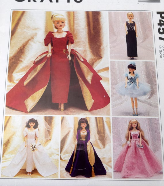 McCalls P457 2505 Modepuppe Kleidung 11-1/2 Puppen | Etsy