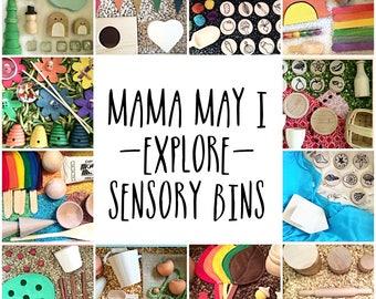 Mama May i Sensory Bin of the Month Club Subscription