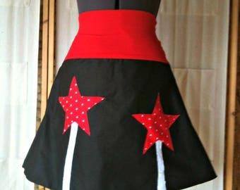 Skirt red stars