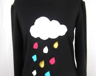 Cloud and rain sweat