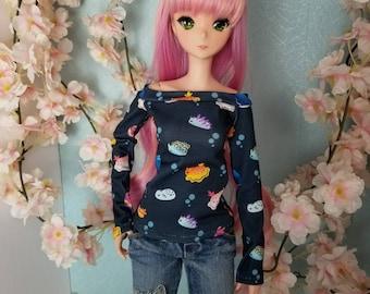BJD SD Doll 60cm Sea Slug Shoulder Shirt Made to Order