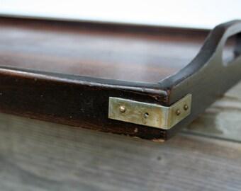 Vintage Wood Serving Tray