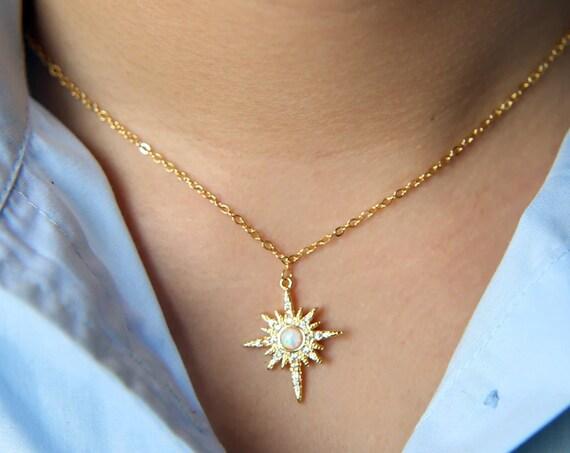 Starburst Charm Necklace, Silver Sunburst Necklace, Sunburst Jewelry, Minimalist Necklace, Daughter Gift, Sun Jewelry, Sun Charm Necklace