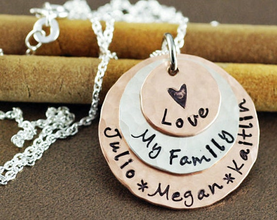 Personalized Mommy Necklace, Gift for Mom, Mom of Boys, Gift for Herm Charm Necklace, Mother Son Jewelry, Grandma Necklace, Mother Jewelry