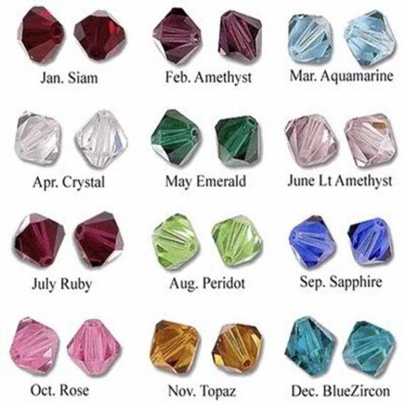 Add a Crystal or Pearl - Swarovski Crystal or Pearl