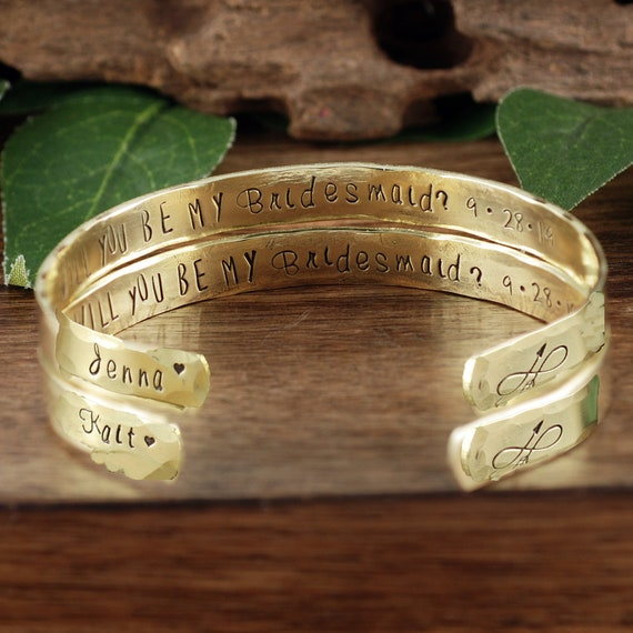 Will you Be my Bridesmaid, Bridal Proposal Gift, Bridesmaid Jewelry, Gift for Bridal Party, Bridal Party Jewelry, Gift for Maid of Honor