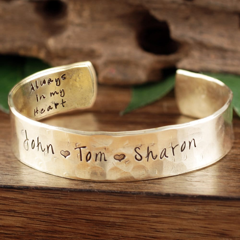 d01ccd9ae1c0 Personalized Cuff Bracelet for Dad