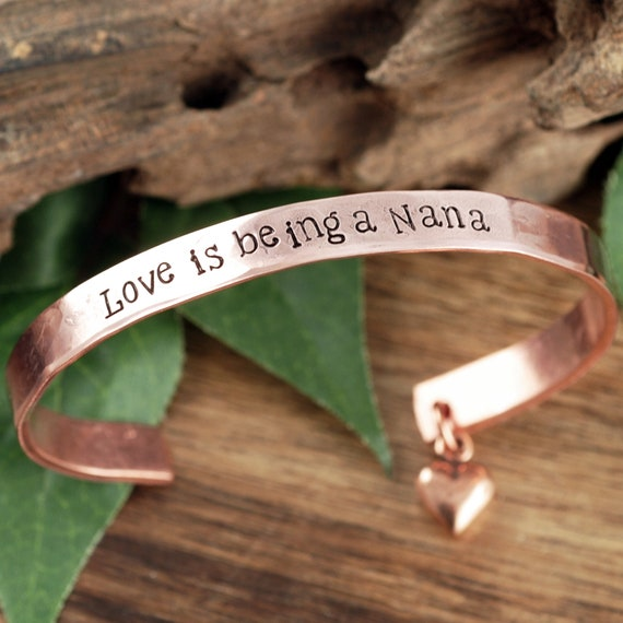 Nana Bracelet Nana gift Best Nana Bracelet Nana Jewelry I love Nana