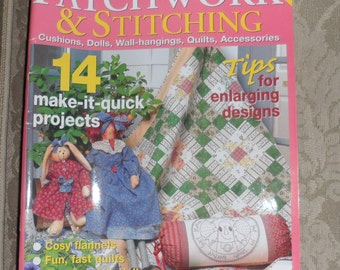 PATCHWORK and STITCHING MAGAZINES / For Crafters / For Doll Makers / Volumes From 2006 / All Brand New Condition / Project Inserts In Tact