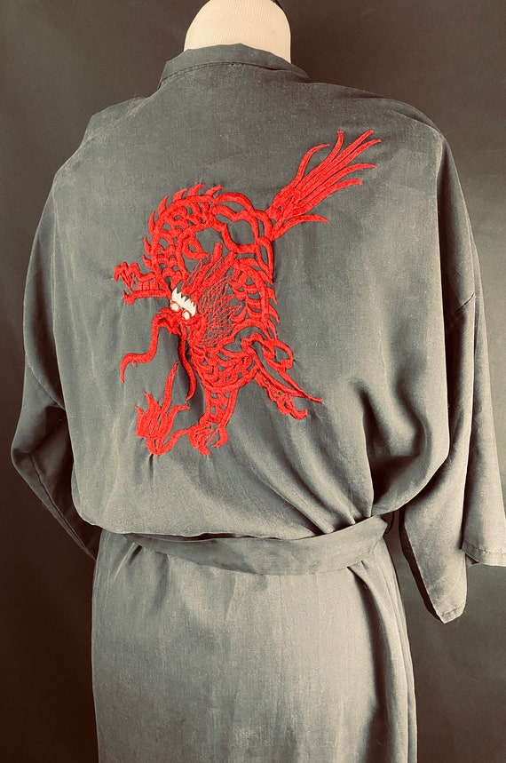 Vintage hand stitched Chinese Robe