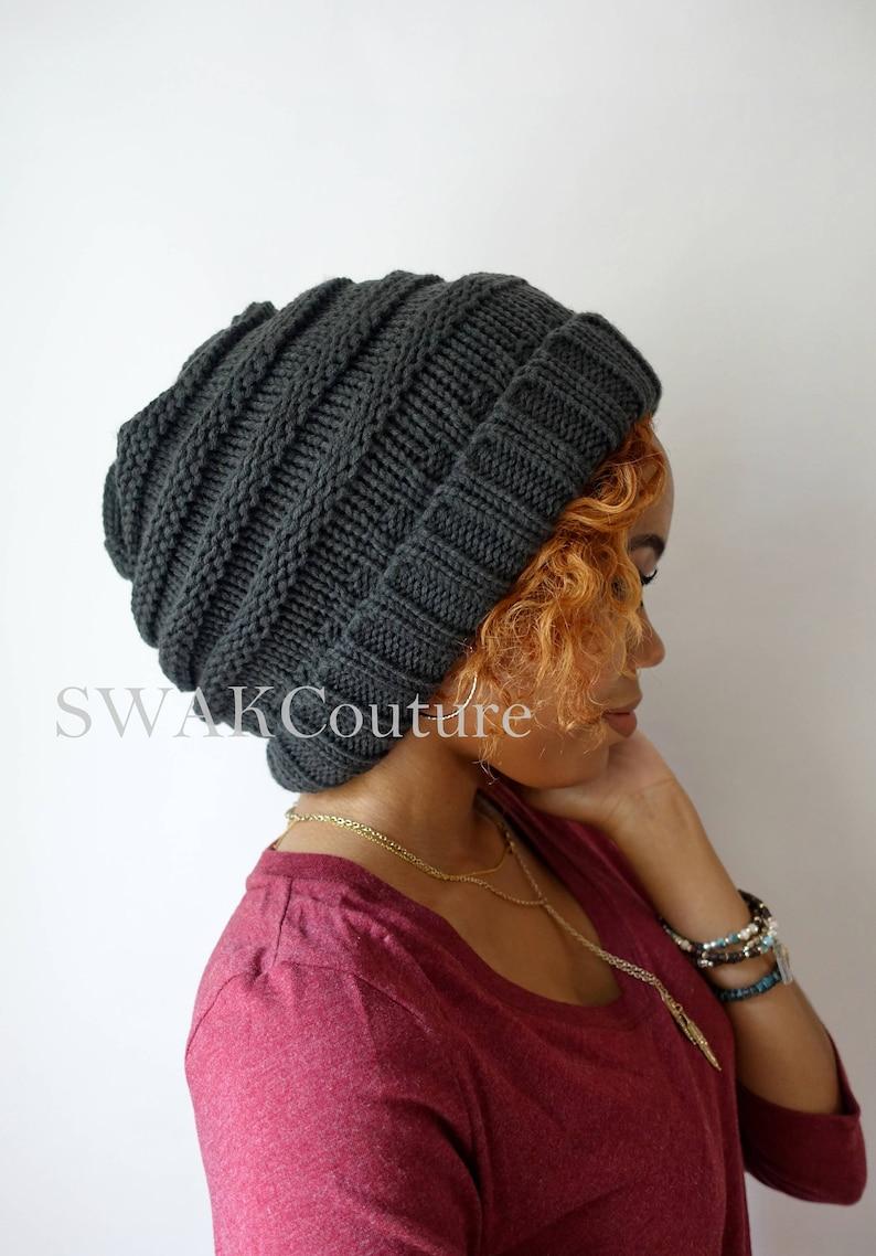 Carmen Beanie Satin Lined Beanie Thick Stretch Cotton Wool  b04b151a2aa0