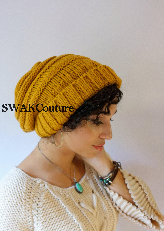 310fdab2e85 Satin Lined Cap Carmen Beanie Hat Thick Stretch Beanie Cap