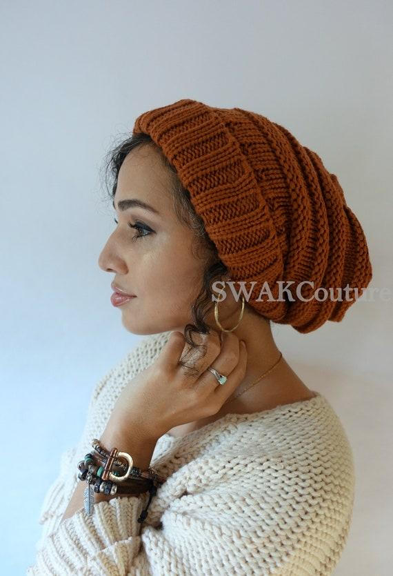 d3c4fa792f6 Satin Lined Beanie Carmen Beanie Thick Stretch Cotton Wool