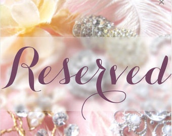 RESERVED for HILARY - Bordeaux Pendant Necklace Rose Gold