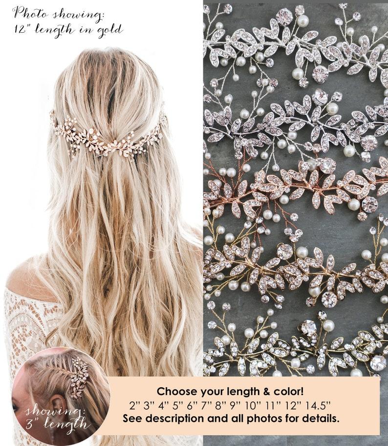 LOWEST PRICE EVER Boho Wedding Hair Accessory  Bridal Hair image 0