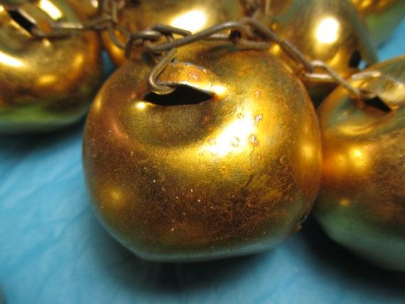 "Lot of 10 Shiny Blue Metal Jingle Bells Christmas Craft 45mm 1-3//4/"" Diameter"