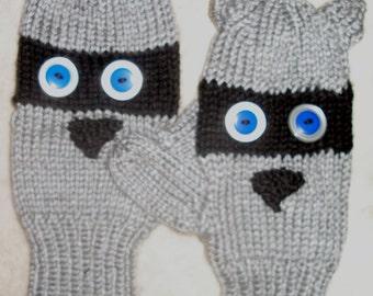 Adult Critter mittens