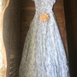 RESERVED- 1970's vintage Gunne Sax floral dress