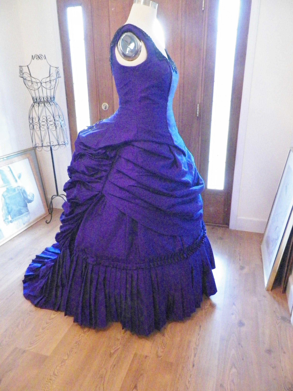 Victorian Dress Victorian Bustle Dress Victorian Wedding