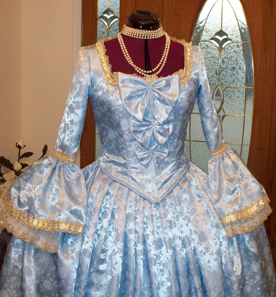 Reserved for Shannon, Marie Antoinette Dress Costume, Marie Antoinette Panniers, Marie Antoinette Dress, 18th Century Costume,handmade