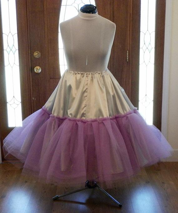 Wedding Dress Crinoline, Crinoline Petticoat, Crinoline Skirt, 1950s Crinoline, White Crinoline, Pink Crinoline, Vintage Crinoline, handmade