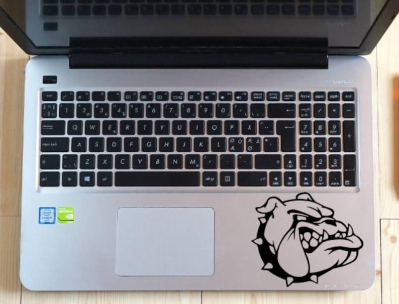 Bulldog Car Decal Bulldog Bulldog School Mascot Bulldog image 0