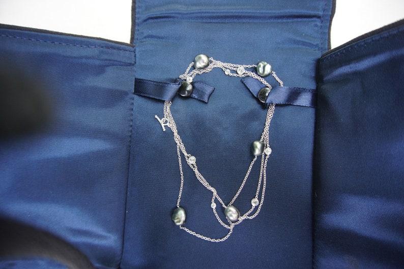 35f0fca9b Tiffany & Co. Elsa Peretti Platinum Diamonds by the Yard® | Etsy