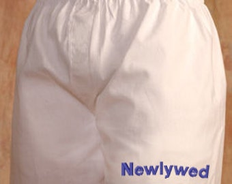 Custom Men's Boxer - Make it a one-of-a-kind with your words!