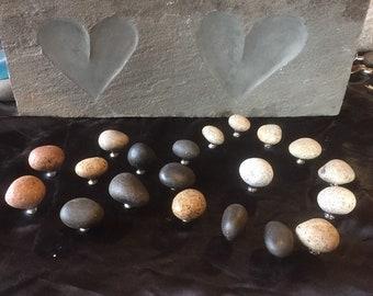 Custom 6 stone knobs