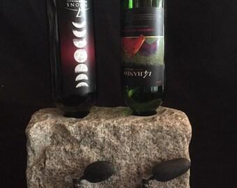 Stone liquor and wine dispenser. Double!
