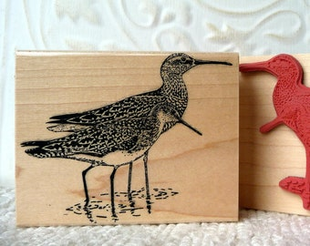 Swallow Silhouette bird rubber stamp from oldislandstamps