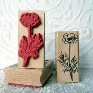 Baby/'s Breath Flower rubber stamp from oldislandstamps