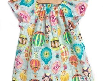 Peasant Dress + girl dress + Play + Hot Air Balloon