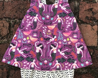 Girls Reversible Dress + Mermaids