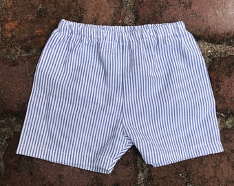 Boy Shorts + Seersucker