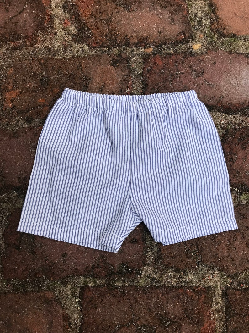Boy Shorts  Seersucker image 0