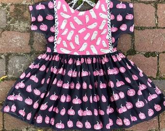 Halloween Twirl Dress