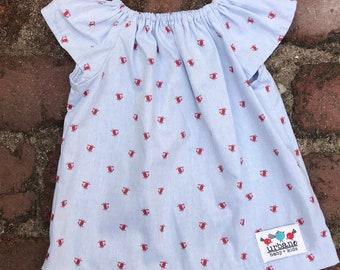 Girls dress + Crab Dress